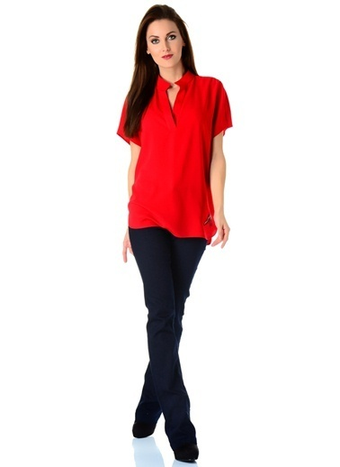 Beymen Studio Beymen Studio Kırmızı Bluz Kırmızı